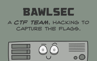 BawlSec: The most awesome CTF team ever.